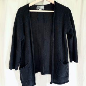 Habitat clothes to live in black cardigan